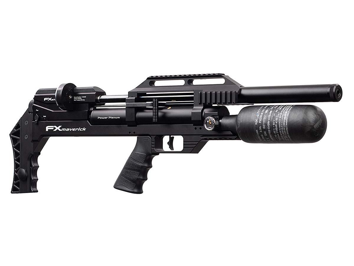 La carabina ad aria compressa configurabile FX Airguns Maverick ad alto potenziale, prodotta in Svezia, è distribuita in Italia dalla Paganini di Torino