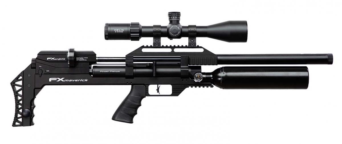 Carabina ad aria compressa FX Airguns Maverick, versione VP Edition con canna media (non ancora disponibile in Italia)
