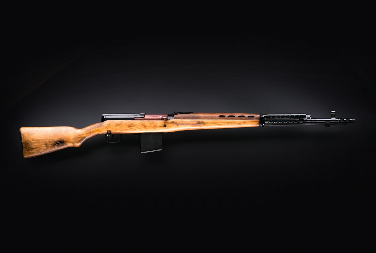 The Molot Arms company offers the KO-SVT semi-automatic rifle for the discerning shooter, hunter, and gun collector