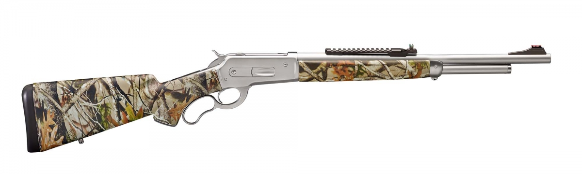 Pedersoli Lever Action 86-71 Stainless Steel Guide Master rifle, a rugged chice for exttreme hunting conditions