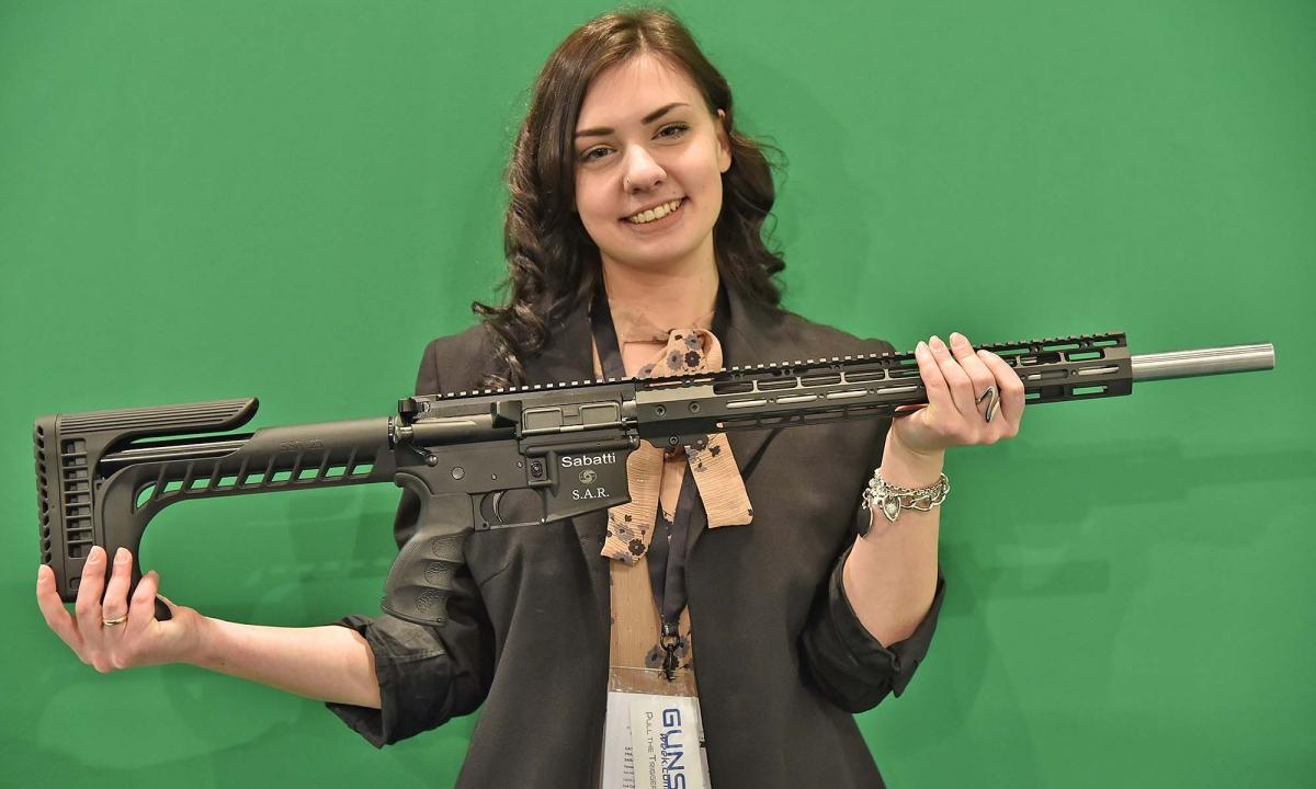 Sabatti S.A.R.: il Black Rifle da competizione...