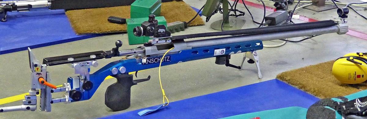 La carabina di Riccardo Ranzani: canna e meccanica Sabatti Tactical Sport, montate su una calciatura Anschütz Precise in Ergal