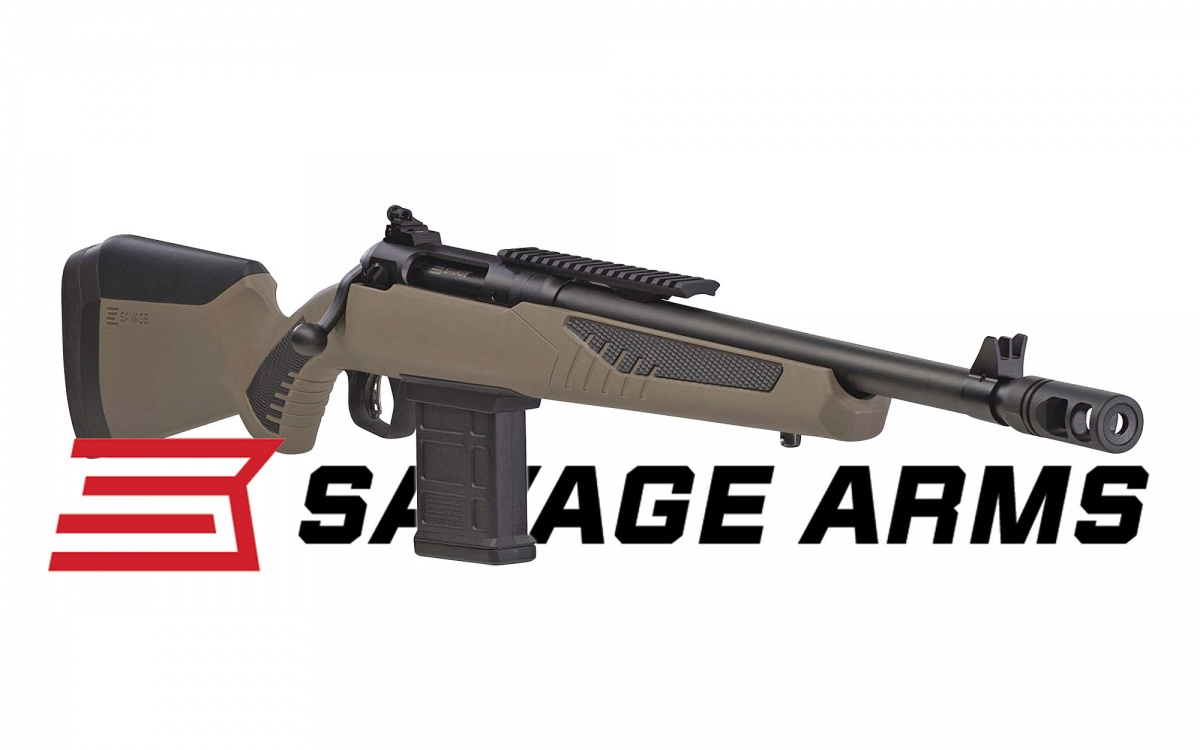 New for 2018 from Savage Arms is the model 110 Scout rifle, available in four calibers