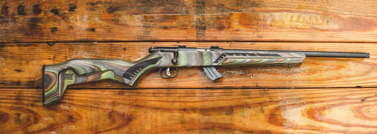 Savage Arms Minimalist, le nuove carabine bolt-action a percussione anulare