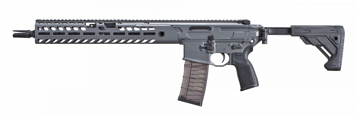 Left view of the new SIG MCX VIRTUS Patrol