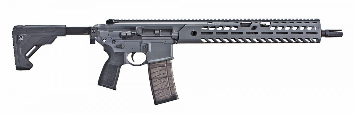 Right view of the new SIG MCX VIRTUS Patrol