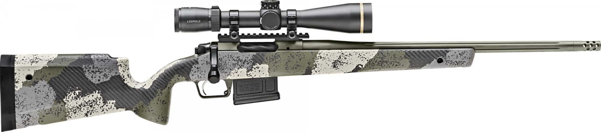 Springfield Armory Model 2020 Waypoint bolt-action rifle, with standard stock and 416 stainless steel barrel
