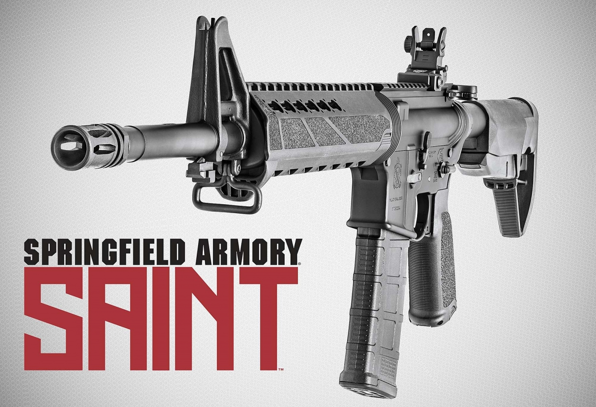 The SAINT is Springfield Armory's first AR-15 derivative