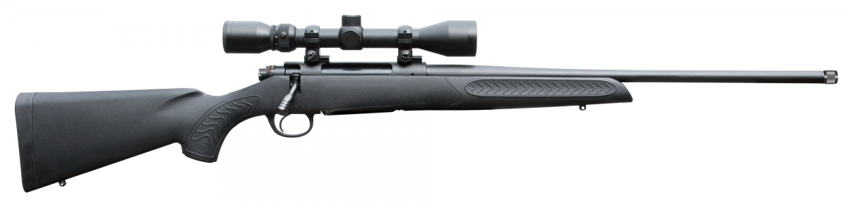 The receiver of the T/C Arms Compass rifle is drilled and tapped for scope mounting (Weaver-style bases included) and comes with sling swivel studs