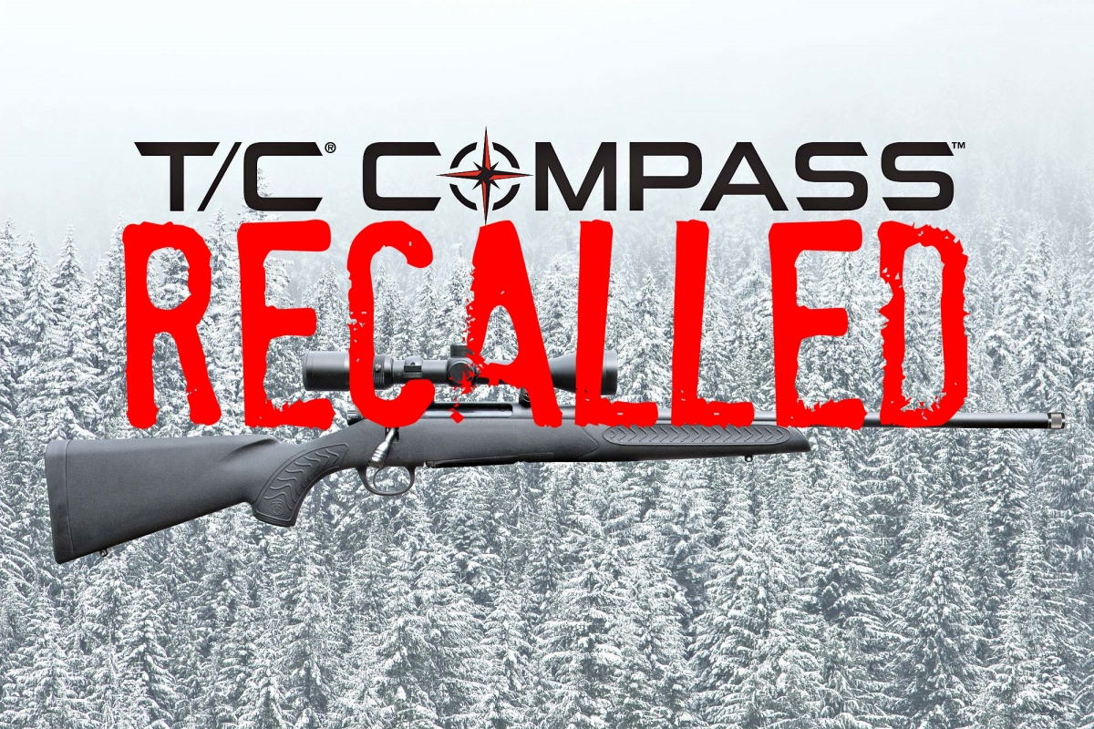 T/C Arms issued a total safety recall notice for all Compass rifles