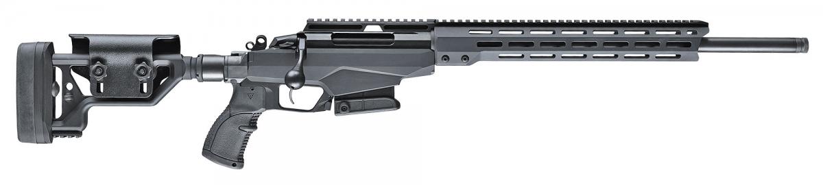 Il lato destro del fucile Tikka T3x TAC A1