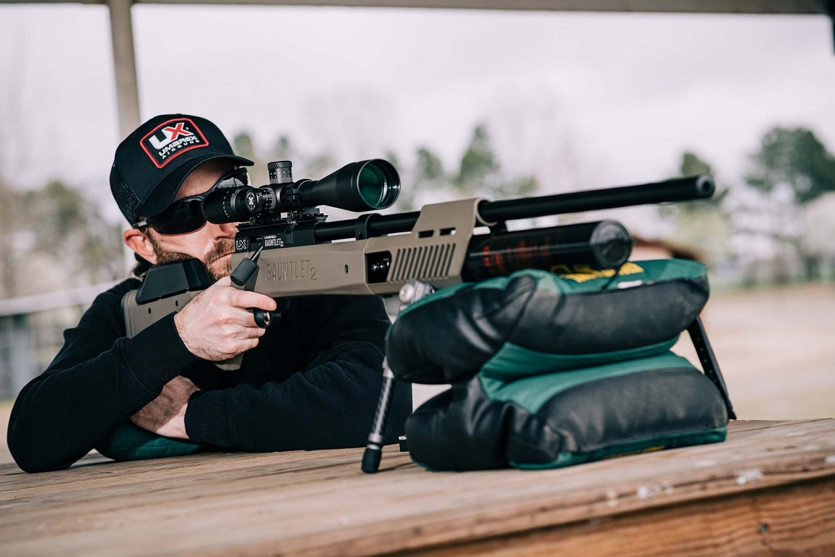 UMAREX USA's new Gauntlet 2 .22 and .25 PCP high-power air rifle represents a marked improvement in ergonomics and performance over the previous Gauntlet model