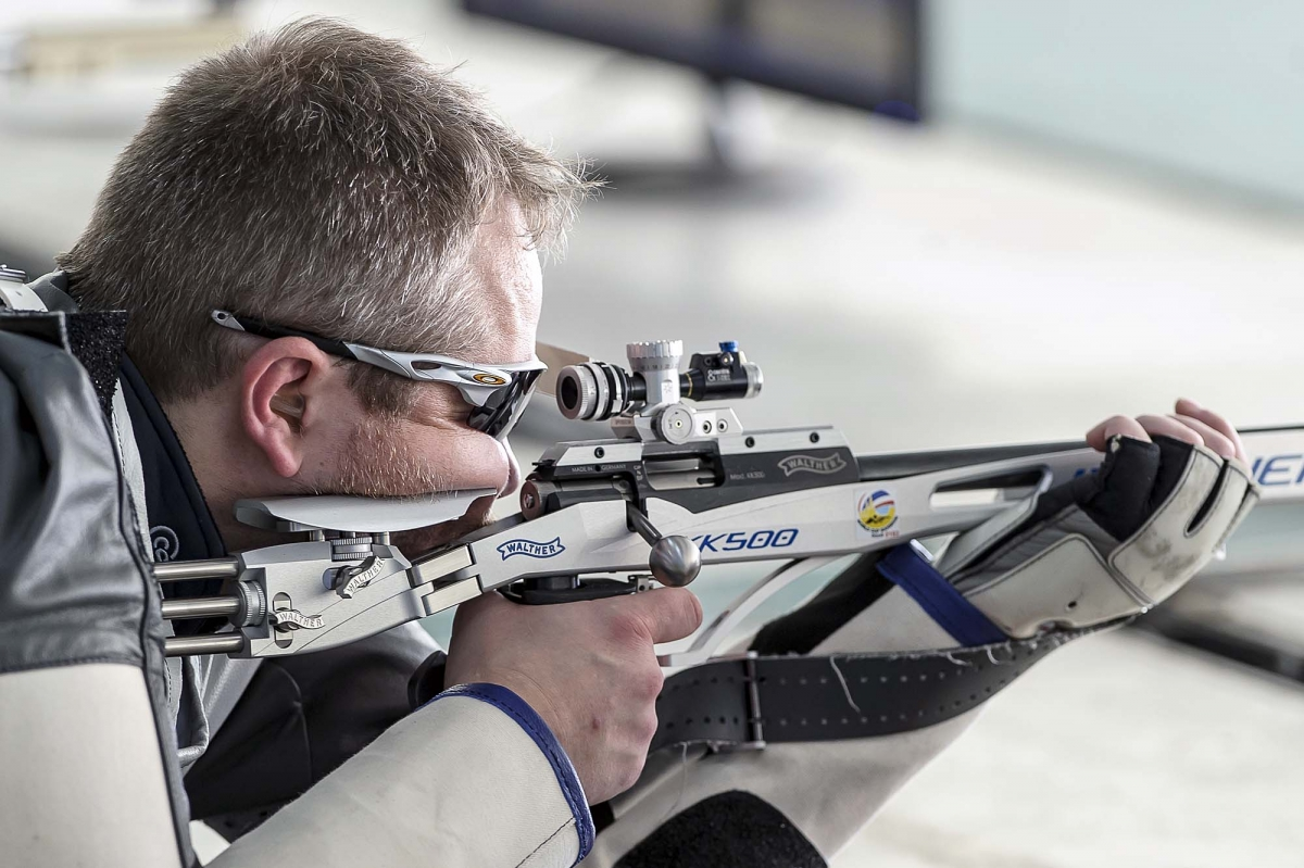 Danish shooter Torben Grimmel won the Silver medal at the ISSF World Cup finals in Italy