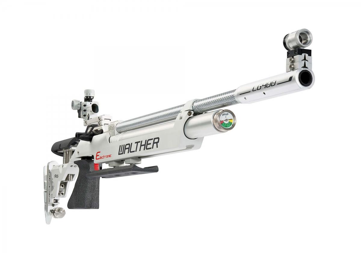 La Walther LG400-E Electronic - con scatto elettronico - è una delle carabine ad aria compressa più avanzate sul mercato