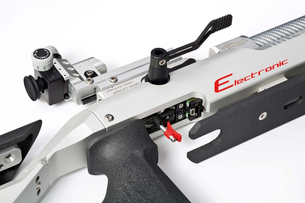 Walther's E-Trigger makes the LG400-E an ideal match air rifle for ambitious sport shooters