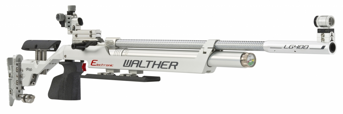 The Walther LG400-E Electronic - with electronic trigger - is one of the most advanced air rifles in the market