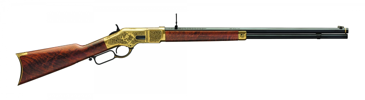 The Winchester 1866 commemorative rifle of the 1866-2016 150 years anniversary