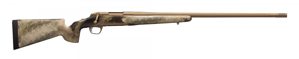 Browning's new X-Bolt Hell's Canyon Long Range McMillan rifle