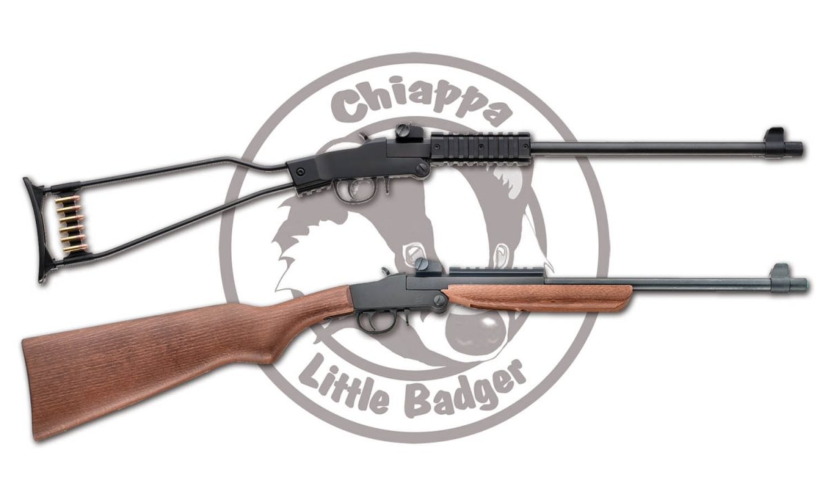 Chiappa Little Badger rifle, ora anche in .17 WSM