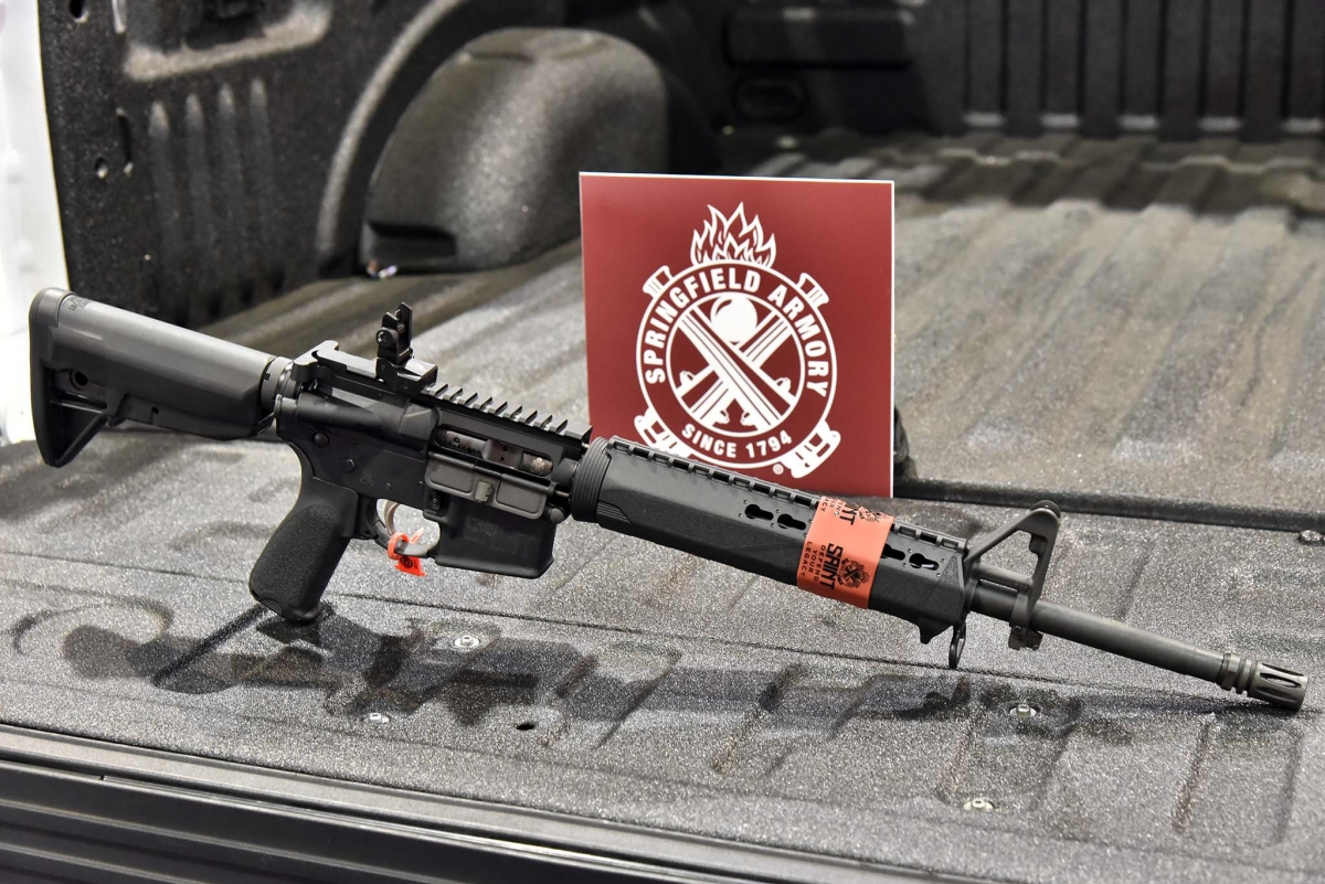 Springfield Armory Saint 5.56mm rifle