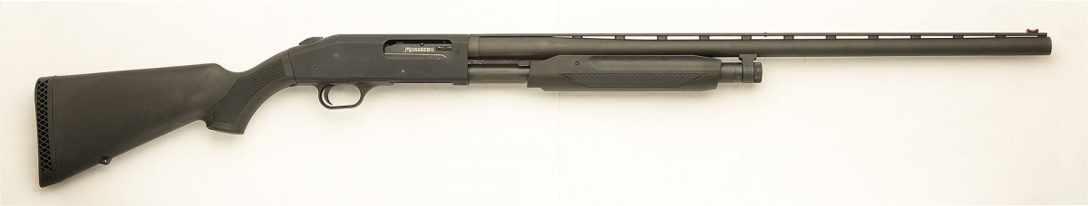 Right side of the shotgun