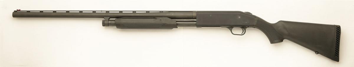 Left side of the shotgun