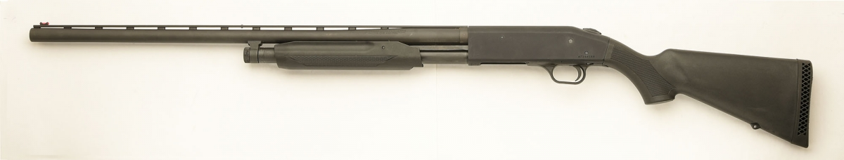 Left side of the shotgun