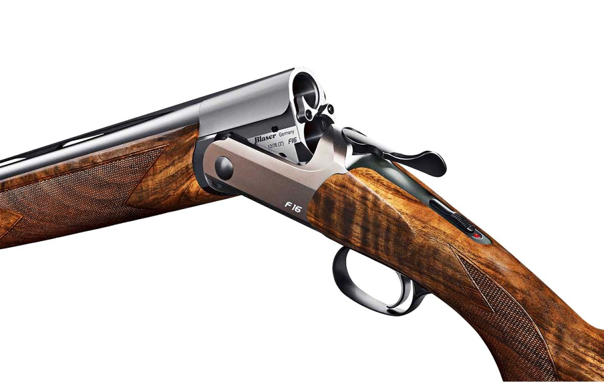 The Game version of the new Blaser F16 shotgun