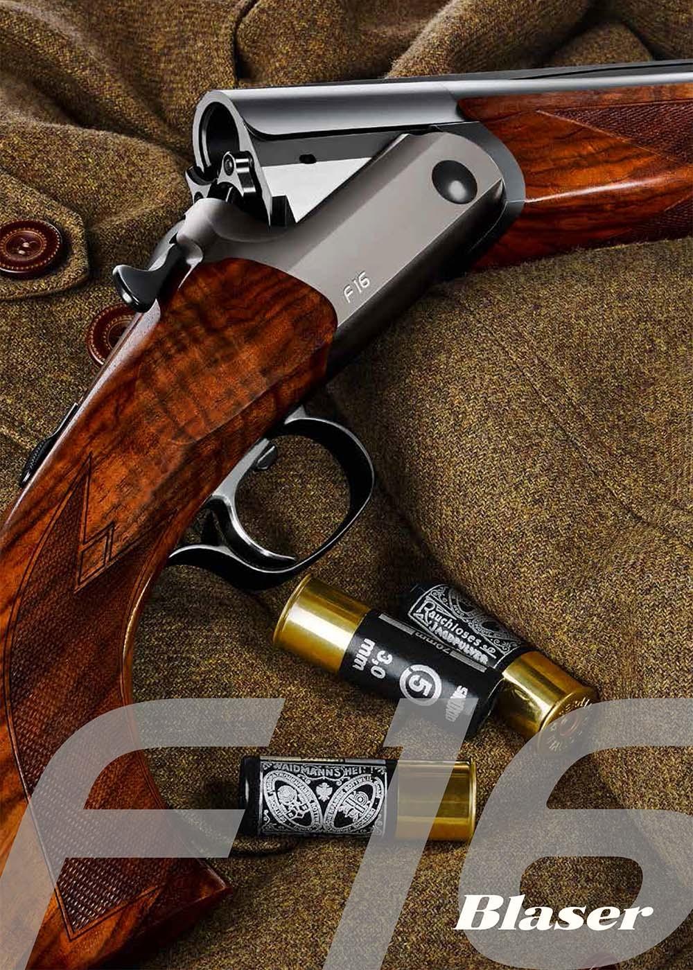 Blaser F16 Shotgun flyer