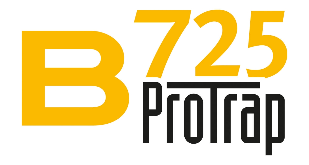 The B725 Pro Trap logo