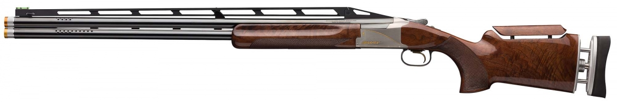Browning Citori 725 Trap Max shotgun, left side