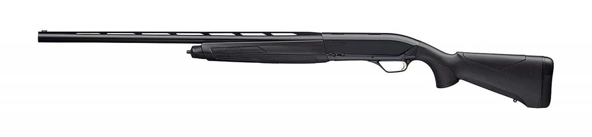 Browning Maxus 2 Composite Black 12 gauge semi-automatic hunting shotgun – left side