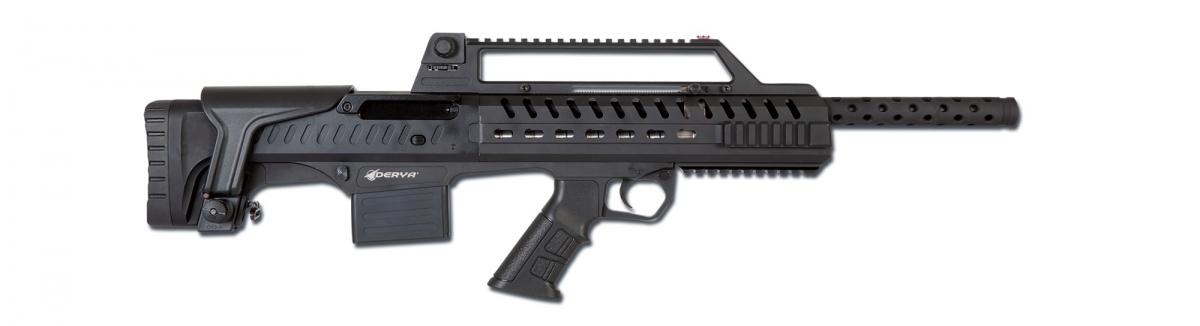 The right side of the Derya Napoli N-100 shotgun