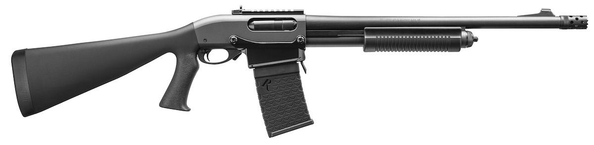 """The Remington 870 DM """"Tactical"""" pump-action shotgun"""
