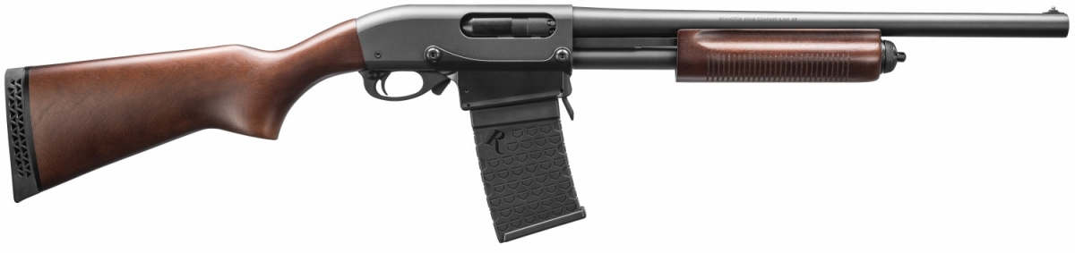 No, you're not dreaming and there's no Photoshop involved: the quintessential Remington Model 870 will be available in a factory magazine-feeding variant!