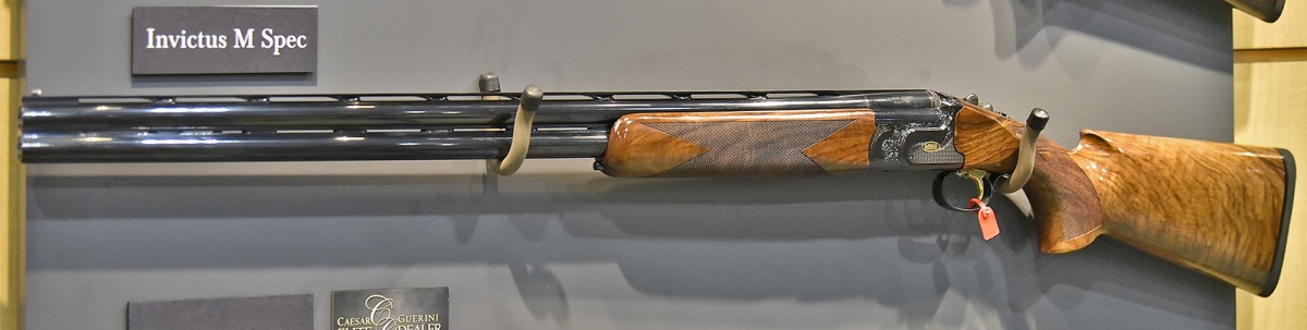 Caesar Guerini's Invictus M-Spec over-and-under shotgun