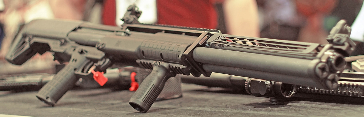 Kel-Tec KSG-25 shotgun: more barrel length, more rounds