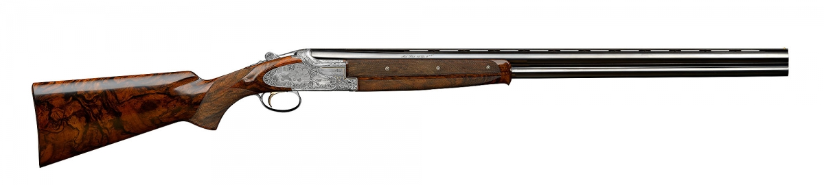 A finely engraved Browning B25 from the John Moses Browning Collection