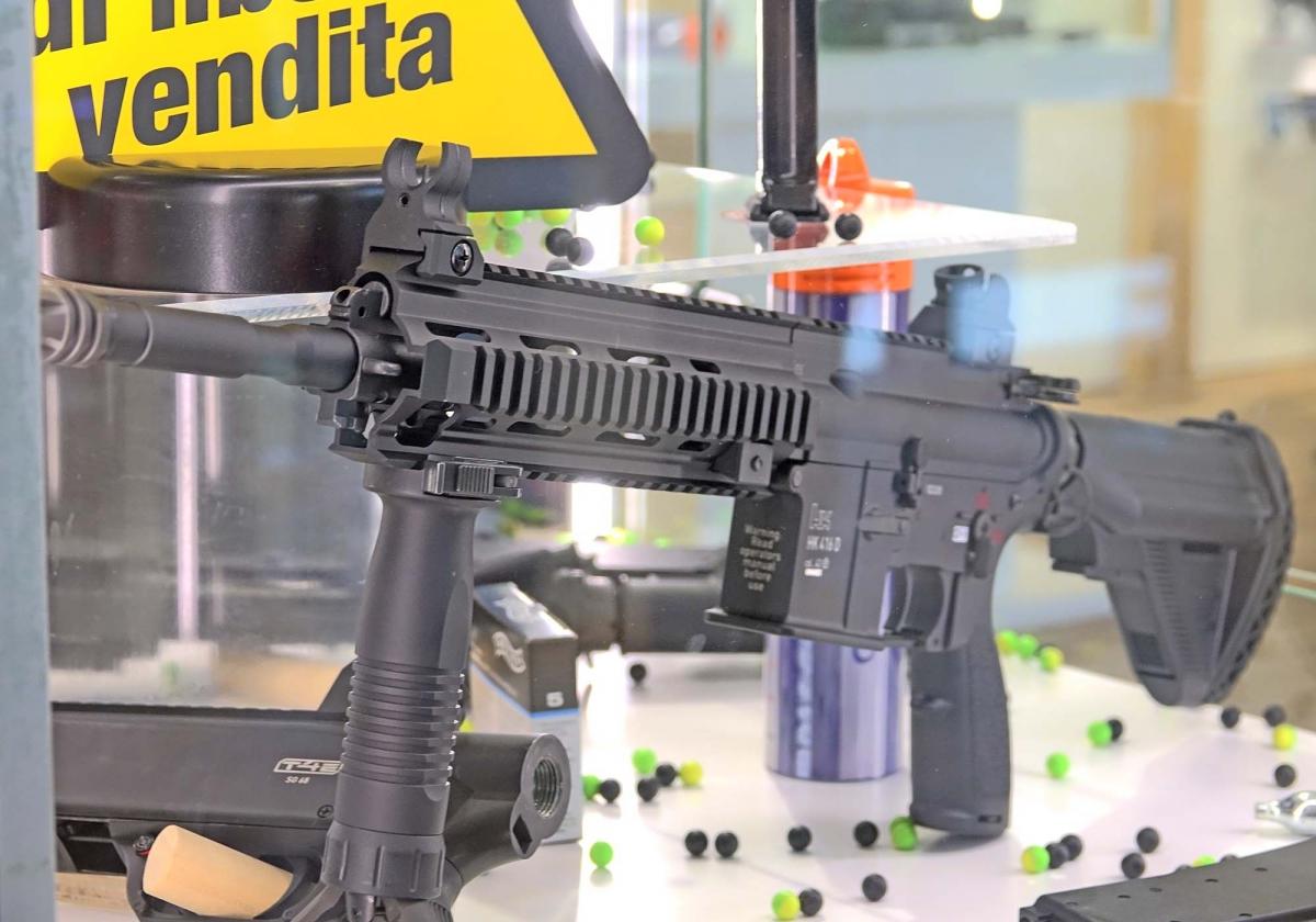 Il marcatore HK416 T4E Full-Auto della UMAREX