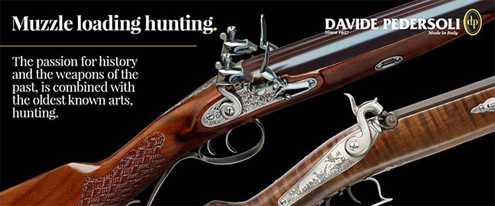 Pedersoli Muzzleloading Hunting
