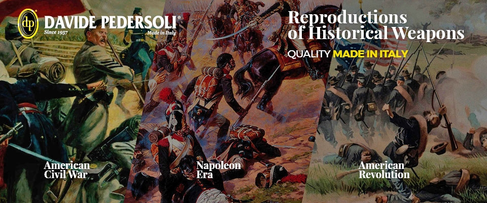 Pedersoli historical reenactment