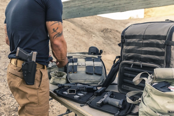 5.11 Range Master bags: Qualifier, Duffel, and Backpack