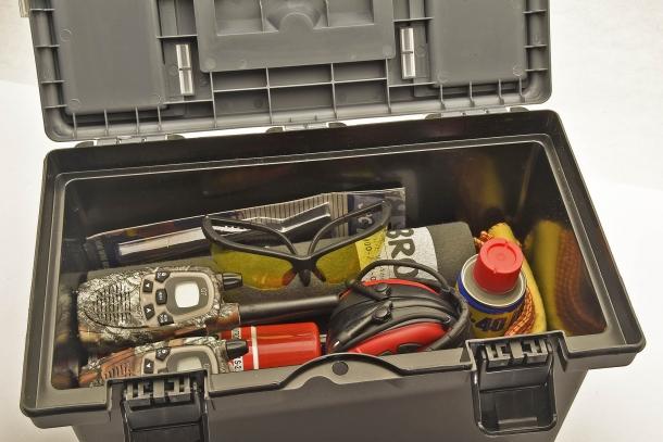 Nella cassetta potete riporre tutto ciò che volete portare con voi
