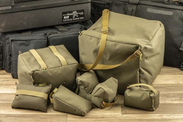 Balistae Solution: sacchetti da tiro per le gare PRS, e non solo