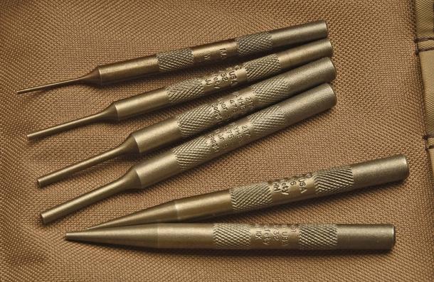 Set di cacciaspine in acciaio