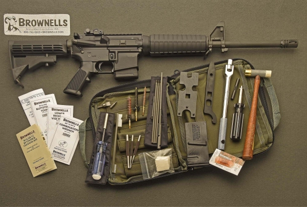 The field package for the M16 / AR-15 rifle platform