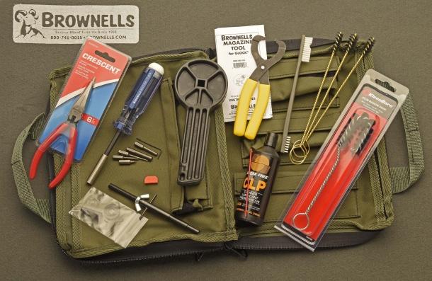 Il kit di manutenzione da campo per pistole Glock