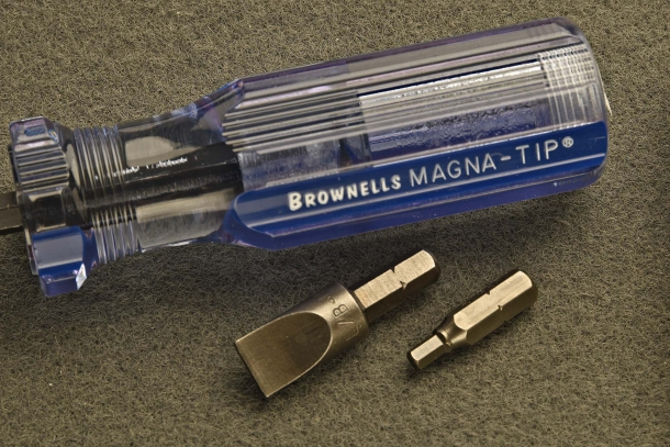 The popular Magna-Tip screwdriver, with 2 tips