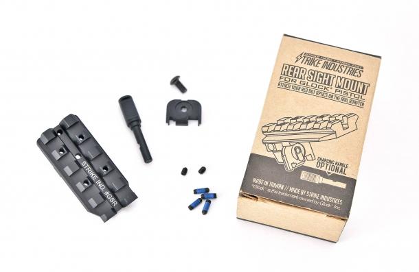 Brownells: Strike Industries GSR Rear Sight Mount per Glock