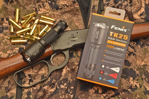 The TK25 R&B is the latest entry in the Fenix Lights line of tactical flashlights